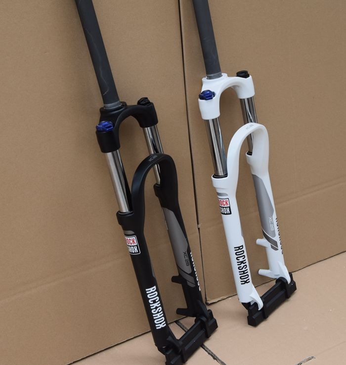 ROCKSHOX XC28 Mtb вилка 26 амортизационная вилка велосипед ручной Управление велосипед Дисковая тормозная вилка велосипед Запчасти