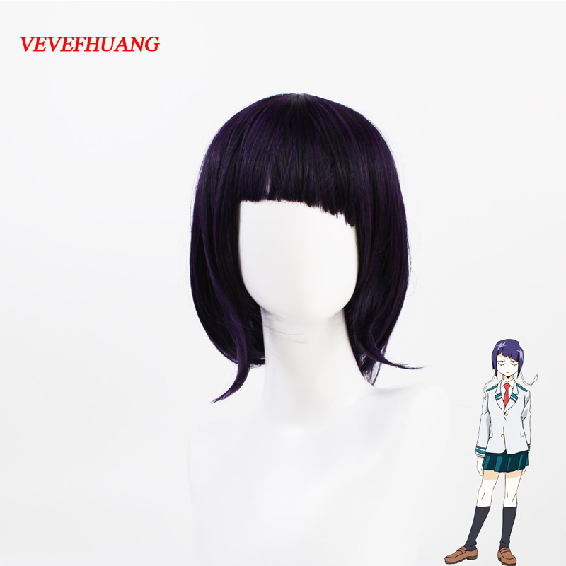 Kyoka Jiro Cosplay Wig My Hero Academy Costume Play Wigs Halloween Costumes Hair free shipping NEW High quality