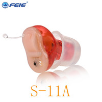 Earplugs for noise wholesale Sound amplifiers for hearing impaired digital earphones deaf S 11A free shipping