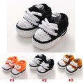 Handmade Baby Sports Booties Crochet Toddler Sneakers Tennis Shoe Baby Boys First Walkers Shoes 5 Pairs XZ050