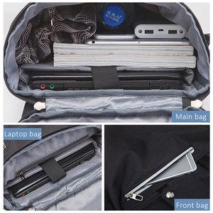 Image 4 - Scione Men Fashion Backpack Laptop Backpack For Men 2020 Waterproof Travel Outdoor backpack School Teenage Mochila Bag