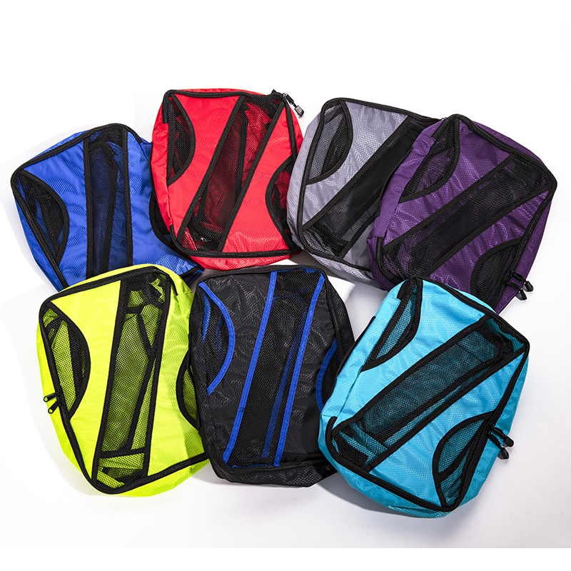 QINYIN Luggage Clothes Tidy Sorting Pouch Portable Organizer 3pcs/set Packing Cube Large Capacity Double Zipper Waterproof Bag