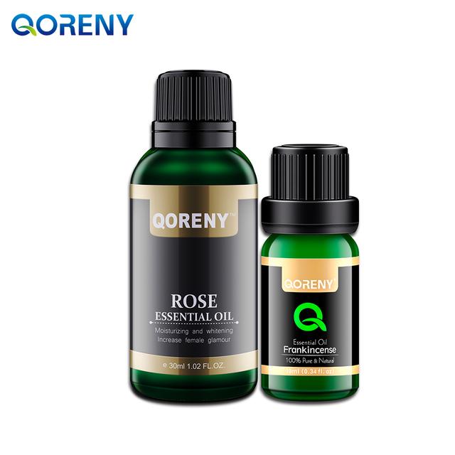 Rose óleo essencial 30 ML + 10 ML de Óleo Essencial de Olíbano