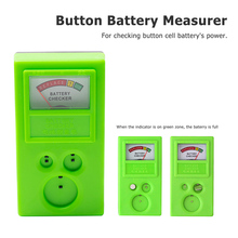 лучшая цена Button Watch Repair Coin Cell Battery Power Checker Test Tester Tool 1.55V /3V Free shipping
