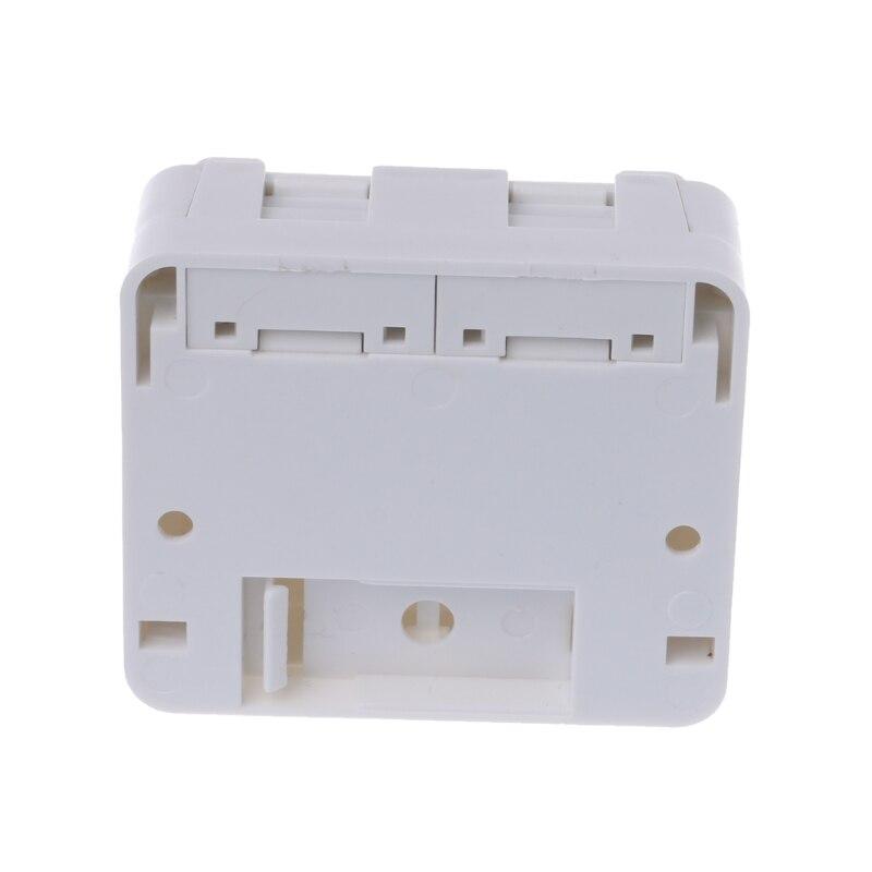 Network Tool kit Desktop JB Dual-port Панель кабель Ethernet распределительная коробка с 2 Cat6 модули