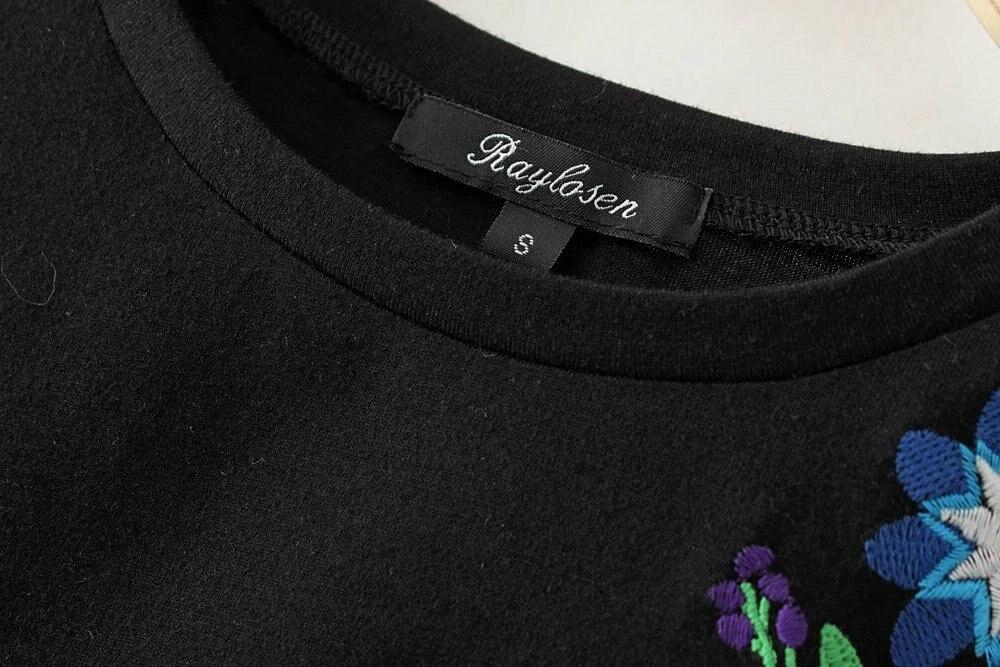 HTB1KE4oQpXXXXbhXpXXq6xXFXXXK - Women Cotton Slim Floral Tshirts Casual Street Daily