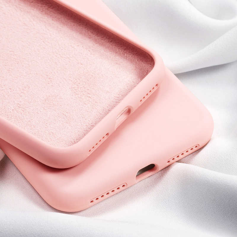 Original Soft Summer Liquid Silicone Case For Huawei Y7 Y6 Pro Y5 Y9 2019 P Smart P30 P20 Mate20 Lite Pro Honor 20 10i 20i Cover