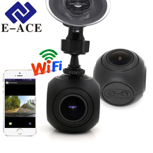 E-ACE Dashcam 2018 Russia World Cup Wifi Cam Car Camera Full HD 1080P Video Registrator Car Dvr Automotive Kamera Auto Camcorder