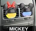 MICKEY Ambientador Difusor de Perfume para el Coche Auto Tenedor Del Perfume Ambientador De Aire De Plástico Ventas Calientes Limpiador En Coche 100 original