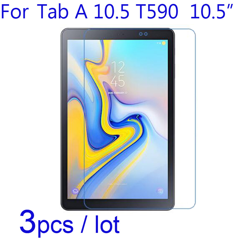 3pcs For Samsung Galaxy Tab A 10.5 T590/8.0 T387 Tablet Screen Protectors,Soft Clear/Matte/Nano Anti-Explosion Protective Film