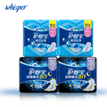 Whisper Sanitary Napkin Pads With Wings Soft Mesh Ultra Thin Day Regular Flow 240mm 12pads*2packs+ Night Use 317mm 8pads*2packs