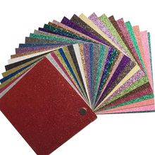 130 Piece Hot Selling 12 inch Ordianry colorful glitter cardstock paper eco-friendly