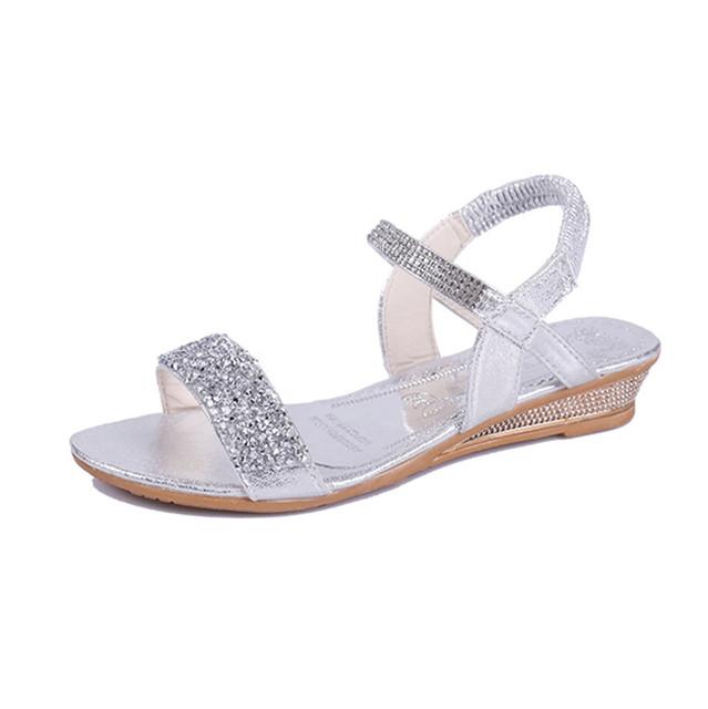 Casual  Elastic Band Sandals
