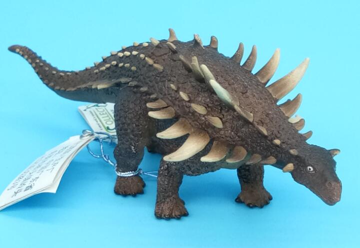 CollectA Brand Polacanthus Dinosaurs Animal Model Dino Classic Toys For Boys 88239 dinosaurs carnotaurus classic toys for boys children toy animal model