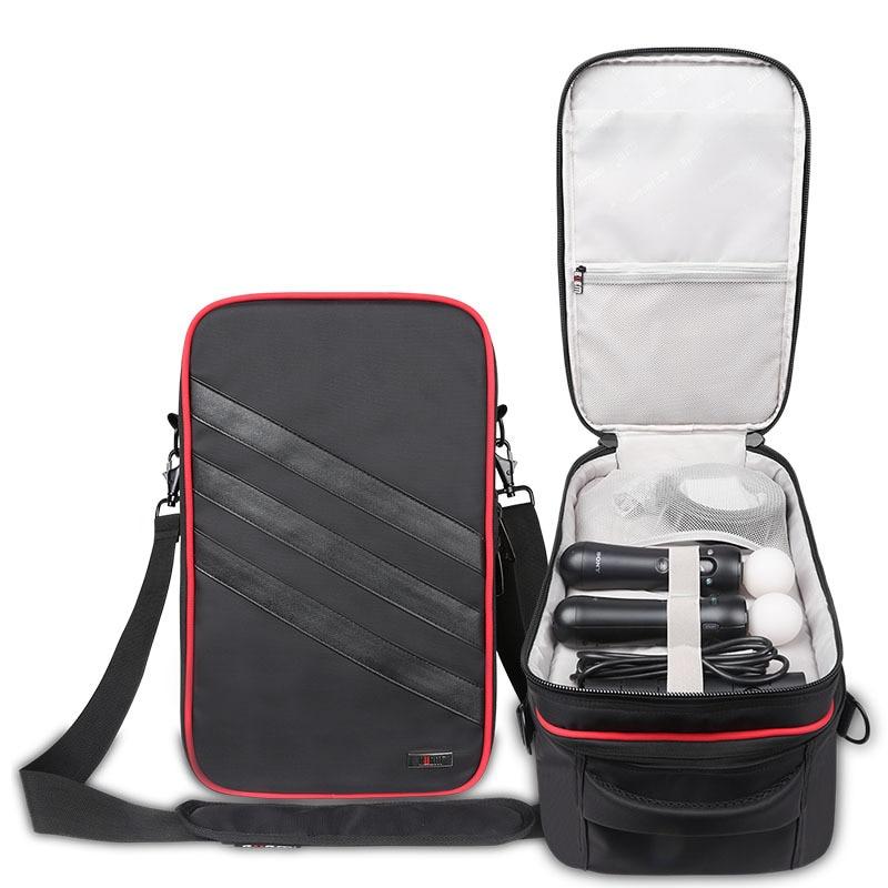 Профессиональная цифровая Чехол для хранения Sony psvr VR очки для кабель для передачи данных USB жесткий диск Водонепроницаемый Сумка Черный