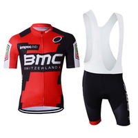 Cycling Jersey Sets Summer Men Team Short Sleeve Set Bike Quick Dry Bib Breathable Ropa Ciclismo