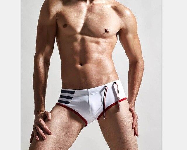Costumi Da Bagno Bianco Uomo : Uomo costumi da bagno costume da bagno nuotare uomini costume da