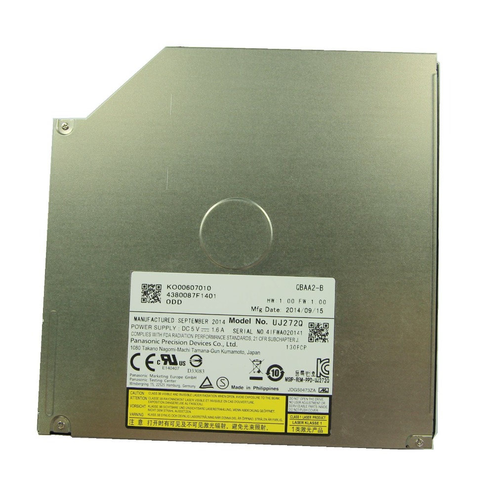 9.0MM UJ272Q 6X 3D Tray-loading Blu-ray Burner replace GUC0N UJ8E2Q UJ8D2Q BD-RE semyon bychkov giuseppe verdi otello blu ray
