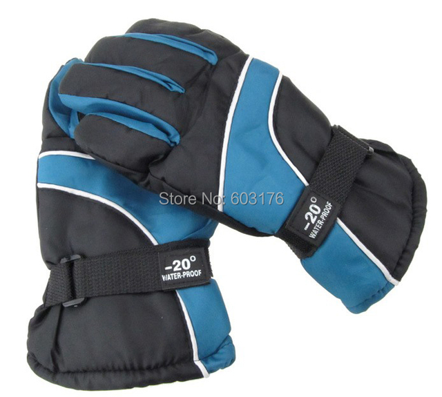 Brand New 2014 Multicolor Thicken Winter Ski Gloves Riding Gloves Motorcycle Gloves