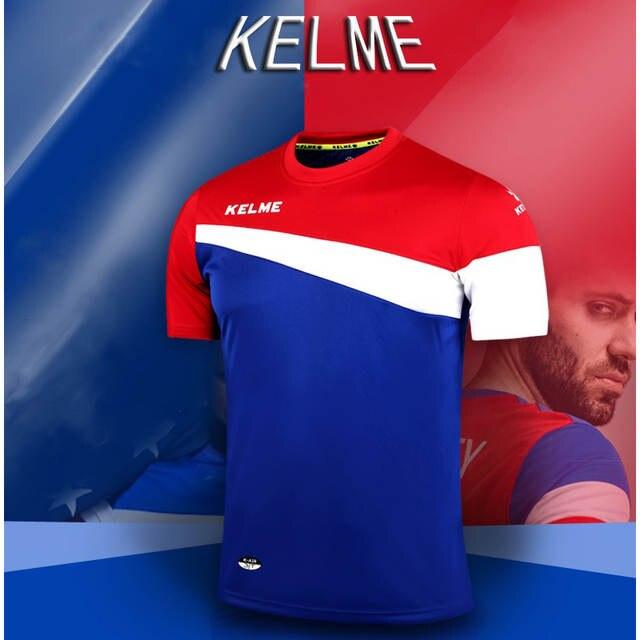 placeholder Kelme oficial autêntico espanha camisa de futebol dos homens de manga  curta camisas de futebol survetement 228ef8cad4581