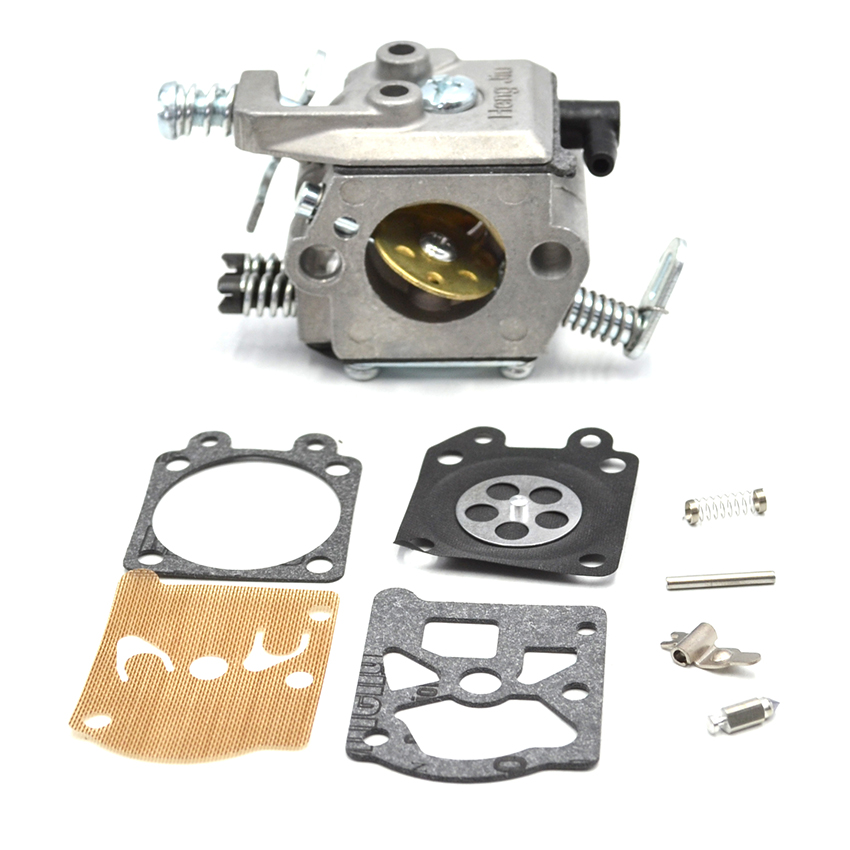 Walbro Carburetor Carb Repair Diaphragm Kit For STIHL MS 180 170 MS180 MS170 018 017 Chainsaw Replacement Parts 2 set throttle trigger interlock kit for stihl ms 180 170 ms180 ms170 018 017 chainsaw replacement parts 1130 182 0800 1130 18