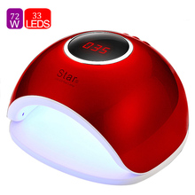 72W UV Lamp LED Nail Dryer Infrared Sensor Nails Art Gel Curing Sun Light Lamp Gel Polish Nail Dryer For All Gel Auto Sensor red light 60w auto led uv lamp for nails nail dryer lamp for gel polish with infrared induction ultraviolet lamp for manicure