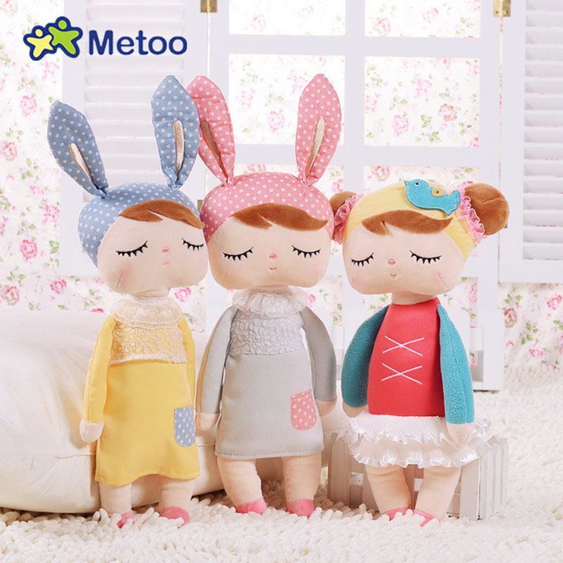 Hot Metoo Dreamy Doll Cute Cartoon Girls Baby Plush Rabbit Stuffed Toys Kawaii Animals For Kids Children Christmas Birthday Gift cute mouse hamster bag plush toy plush backpack stuffed animals plush doll japanese gift for kids girls kawaii toys for children