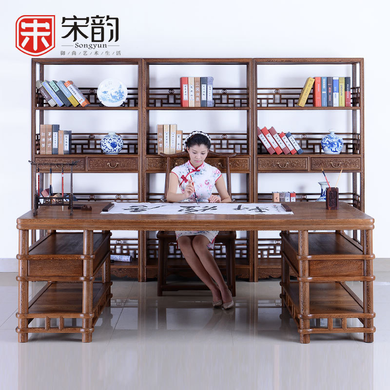 Song Yun Rosewood Study Furniture Wooden Table Table Of Chinese Wood Boss Painting Calligraphy Table