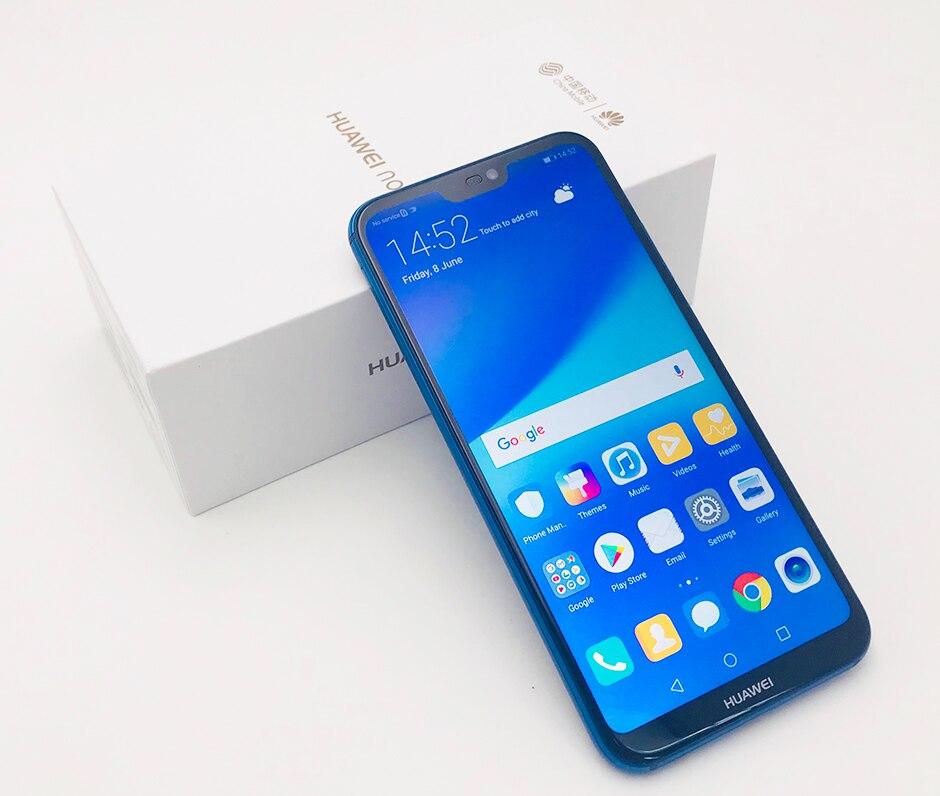 "Huawei p20 lite nova 3e global firmware 4g lte mobilephone face id 5.84 ""tela android 8.0 24.0mp câmera 4 gb ram 64 gb rom"