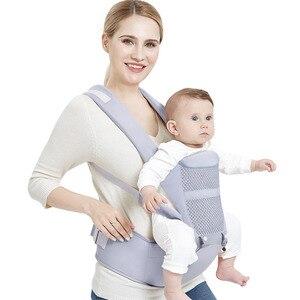 Image 1 - 0 48 ay ergonomik bebek taşıyıcı sırt çantası Hipseat ile yenidoğan için çok fonksiyonlu bebek Sling Wrap bel dışkı bebek kanguru