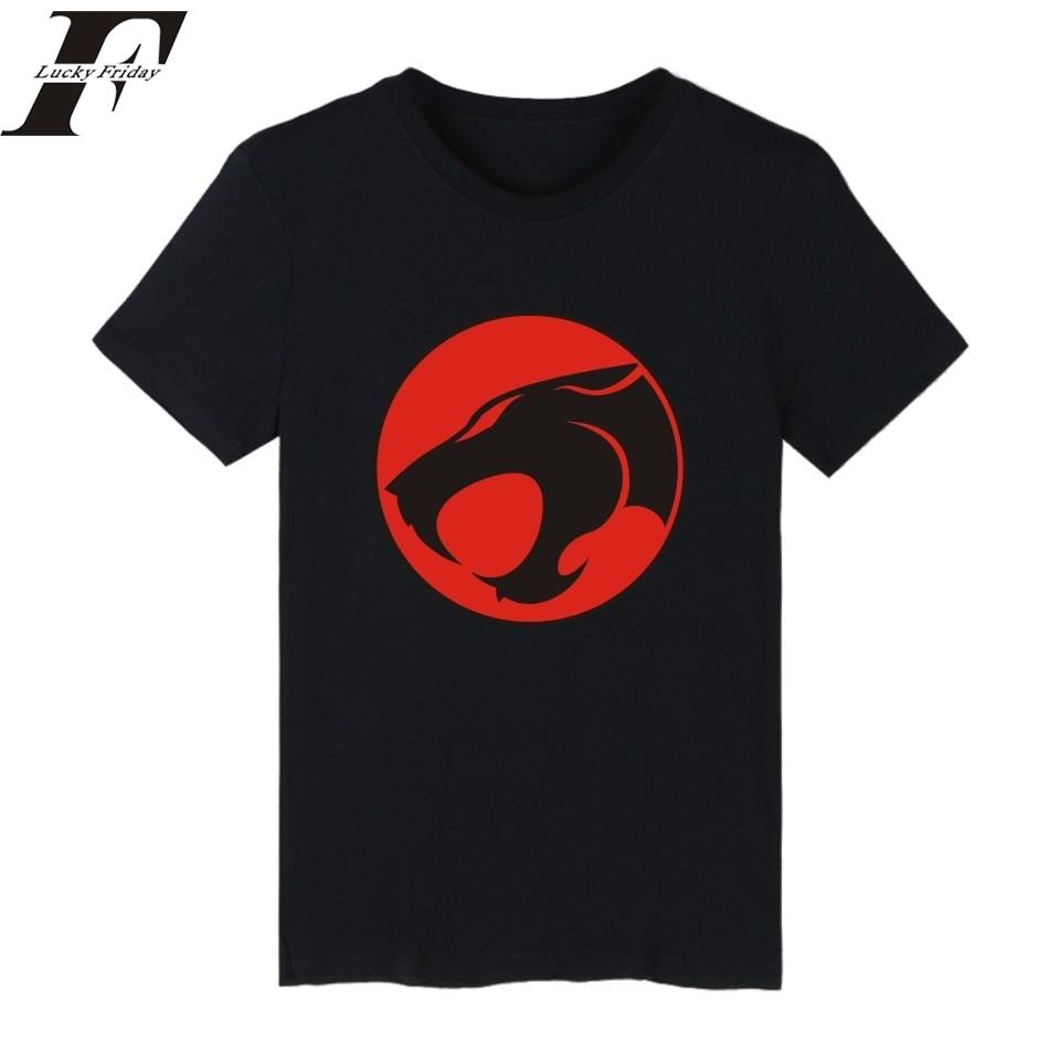 2019 Mode Harajuku Lustige T-shirts Thundercats Emblem Hip Hop T-shirt T-shirt Männer Camiseta Masculina Fitness T-shirt Männer Kleidung MöChten Sie Einheimische Chinesische Produkte Kaufen?