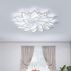 Image 2 - Luminárias modernas de teto com led, sala de jantar, decoração de casa, para quarto, restaurante, iluminação, regulável, lustre