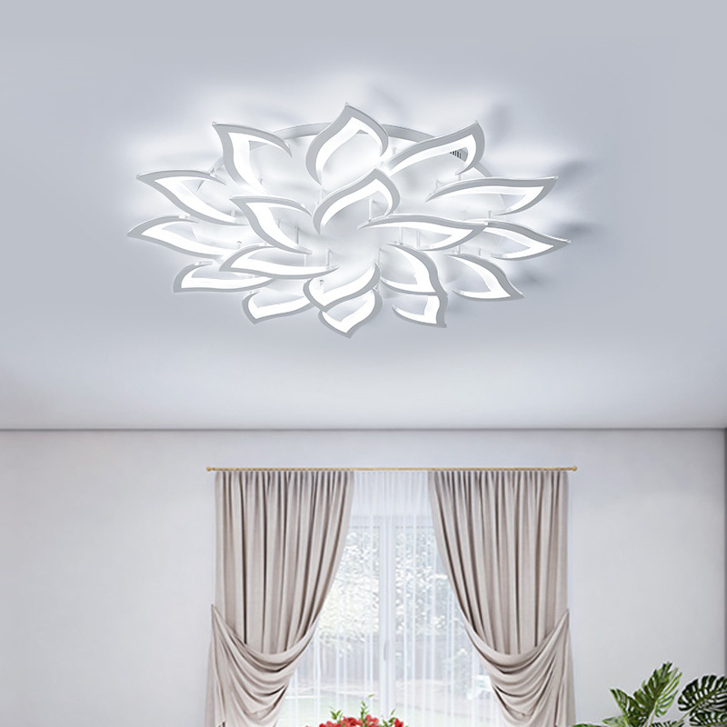 Image 2 - Surface Mounted Modern Ceiling Lights Kitchen Fixtures Home LED Lamp For Bedroom Dining Living Room Restaurant Lighting Dimmable-in Ceiling Lights from Lights & Lighting