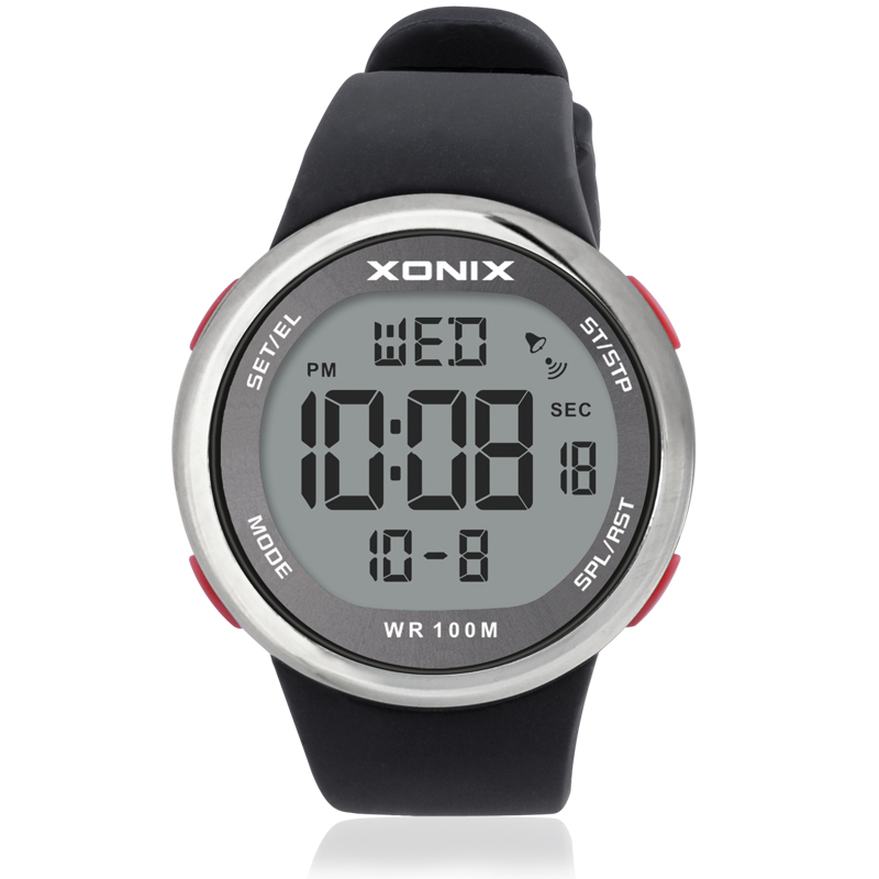 Hot!! Fashion Men Sports Watches Waterproof 100m Outdoor Fun Multifunction Digital Watch Swimming Diving Wristwatch Reloj Hombre