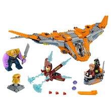 07103 Legoings Marvel Super Heroes Avengers Infinity War Thanos Ultimate Battle Iron Man Blocks Kid Toy Gift Legoingly