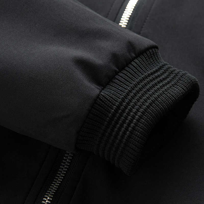 Grandwish/Новая мужская повседневная куртка-бомбер, мужская уличная куртка в стиле хип-хоп, приталенная куртка-пилот, мужская хлопковая куртка, большие размеры 4XL, DA931
