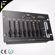 16 Canales Simple DMX consola 16CH dmx512 fácil etapa Controlador de luz