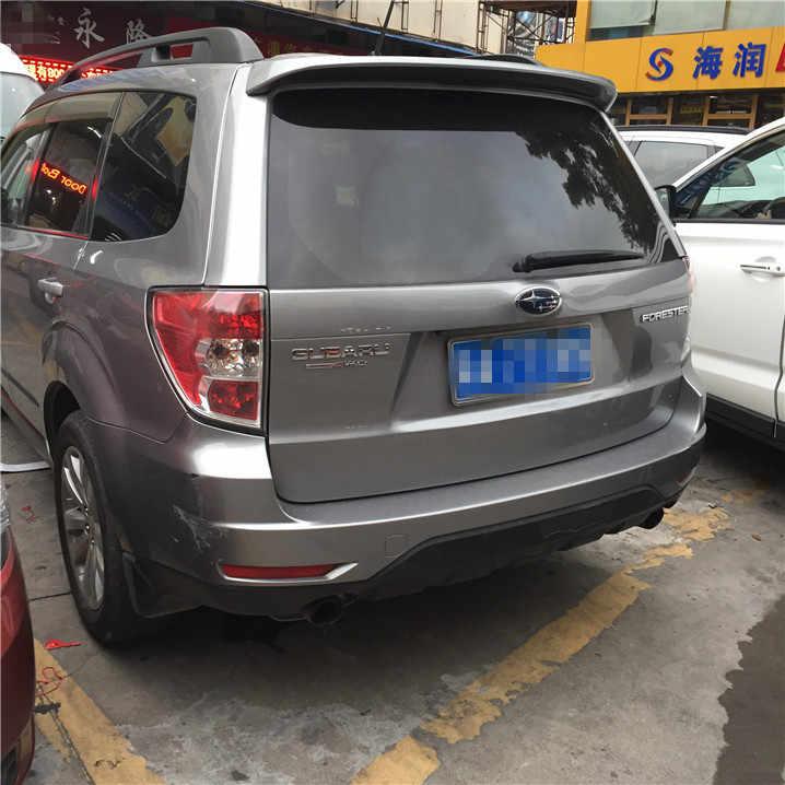 לפורסטר ספוילר ABS חומר לחץ על זנב צבע פריימר האחורי לרכב האגף ספוילר האחורי ספוילר לסובארו פורסטר 2009-2012