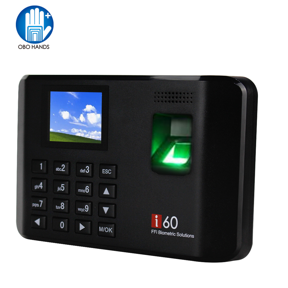 2.4 inch Standalone Biological Recognition Fingerprint Reader Time Attendance Machine Access Control Keypad Password Unlock цена и фото