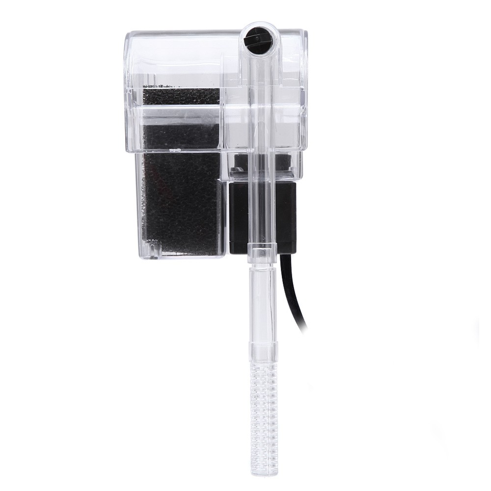 3W Hanging External Aquarium Filter 3 in 1 Aquarium Waterfall Filter Pump For Fish Turtle Tank Water Oxygen Circulation Pump New