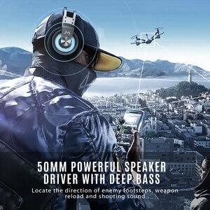 Image 2 - MPOW EG3 Pro Gaming Driver 50 Mm 3.5 Mm USB Có Dây Tai Nghe Với Trên Dòng Điều Khiển Âm Lượng Loại Bỏ Tiếng Ồn mic Cho Máy Tính Xbox