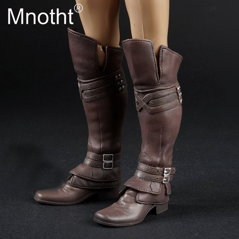 1:6 Scale Ancient Rome Crusader Boots Canister shoes With Boot Foot Model For 12inch Action Figure Scene Accessories mnotht m3