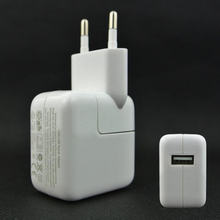 Original 10W 2.1A USB Wall Charger EU/US plug for iPad mini/2/3/4/AIR Samsung Andorid Tablet Charger for iphone 7 6 6 plus Coque