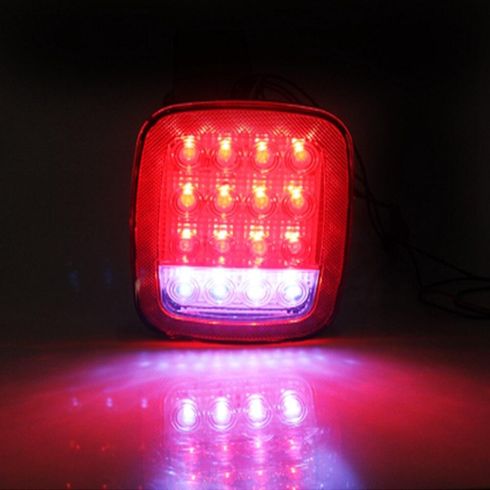 Universal Led Trailer Tail Lights Brake Turn Signal