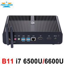 In Stock Skylake 4K HTPC Desktop Computer Fanless font b Mini b font font b PC