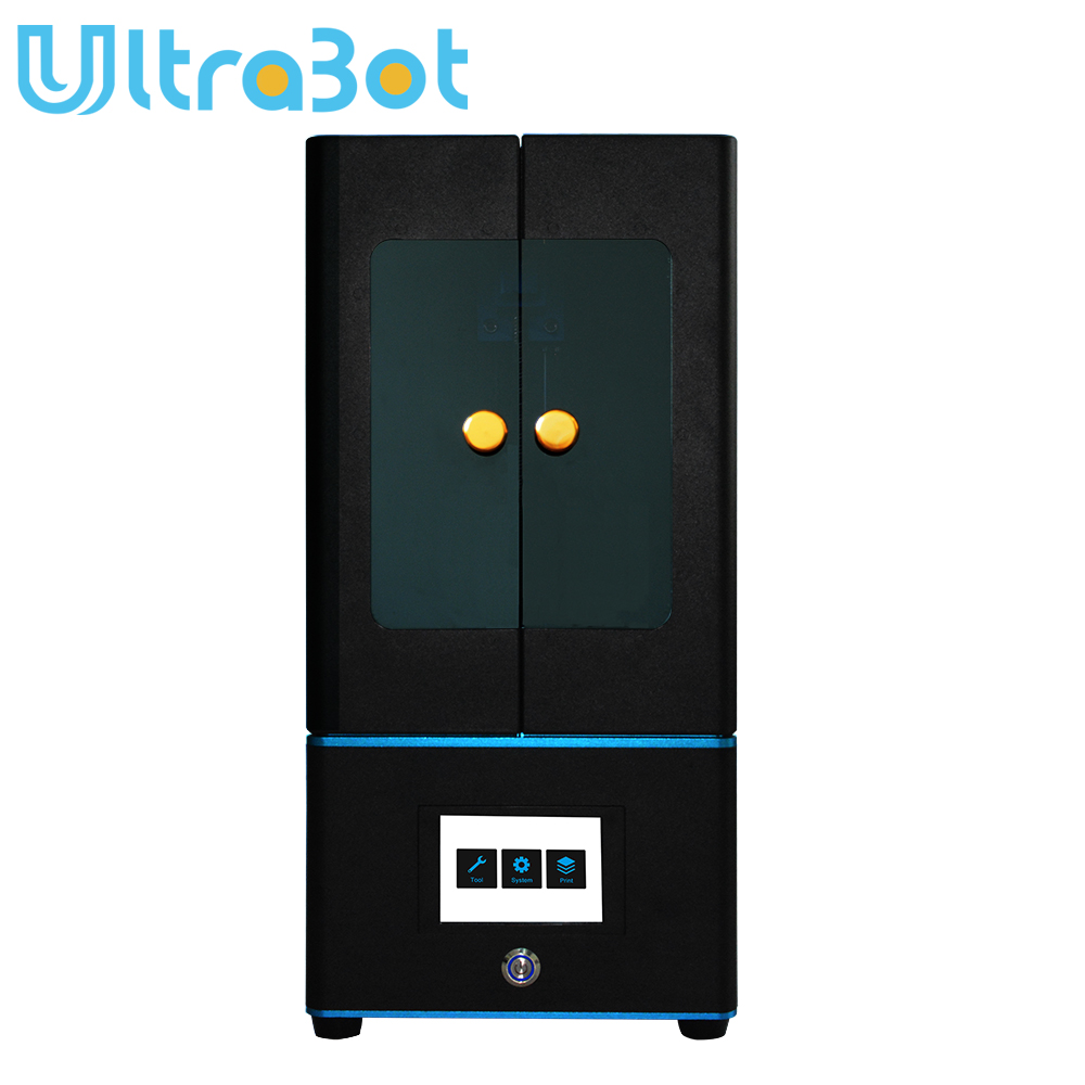 Tronxy New LCD 3d printer UV resin Light-Cure DLP/LCD with 3.5 inch touch screen and Photosensitive resin(405nm)