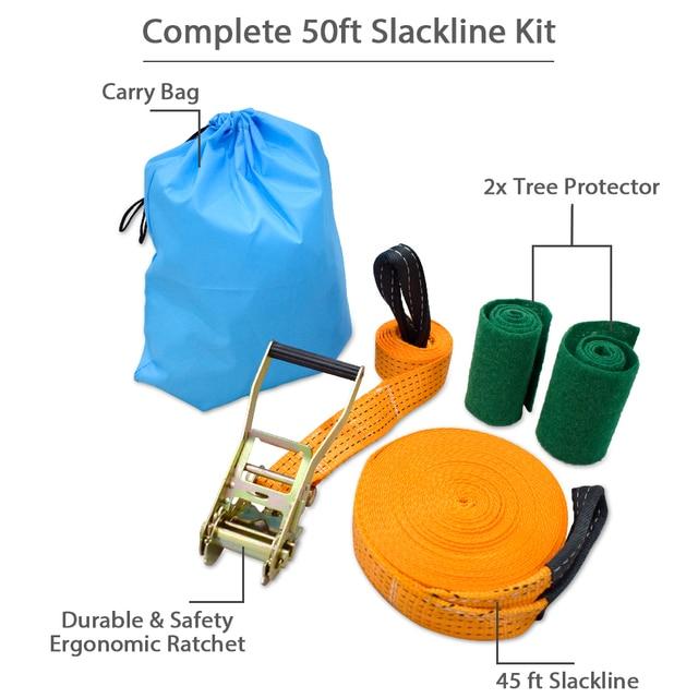 GEERTOP Slack-line Kit