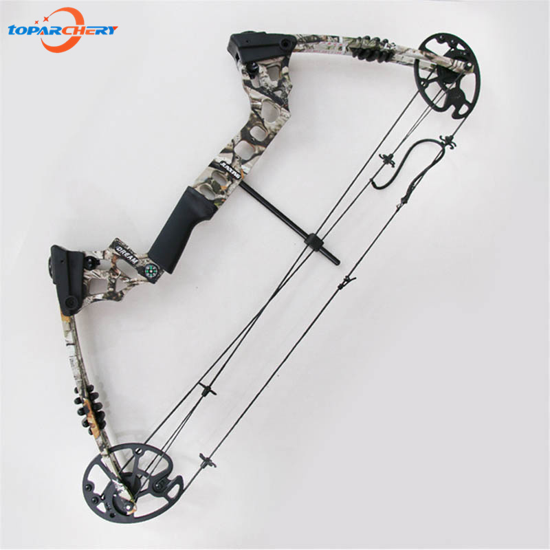 20-70lbs Space Aluminum Compound Bow Adjustable Draw Length 17''-29'' for Archery Hunting Shooting Target Practice Stable Bow 20 70 lbs compound bow 17 29 inch by aluminum alloy in 3 color for outdoor archery hunting shooting