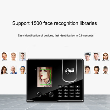 цена на Eseye Face Recognition Biometric Time Attendance System RFID Card Access Control Attendance Machine