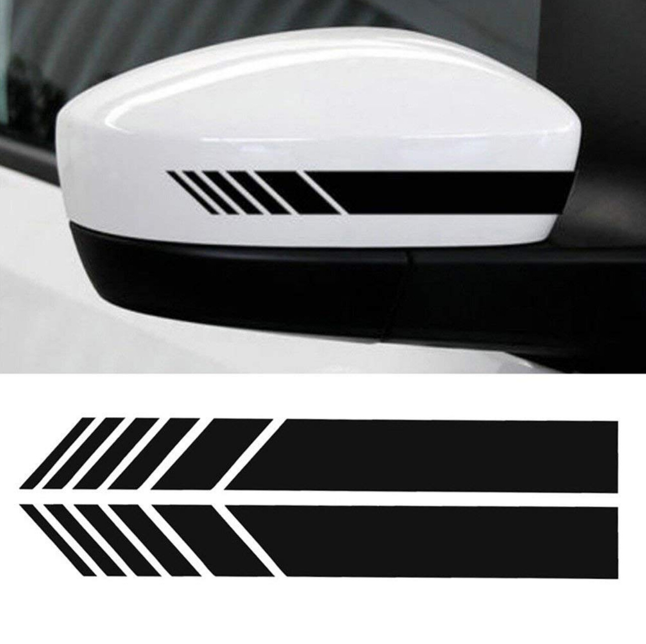 Exterior Accessories Latest Collection Of 2pcs Car Styling Auto Vinyl Graphic Sticker For Touran W211 A4 B6ford Fiesta Focus Mondeo Bmw E30 Renault Megane 2 Bmw F10 E87 Durable Service